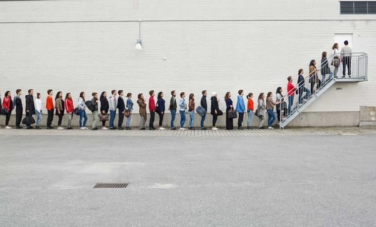 La grande piazza del non lavoro