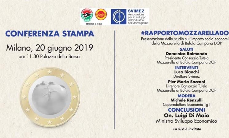 Di Maio e Bianchi: Rapporto Mozzarella DOP