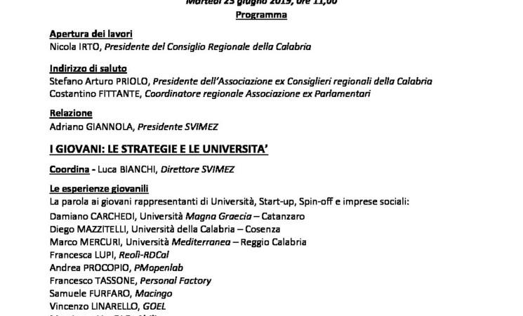 Ricerca Calabria Regione Aperta