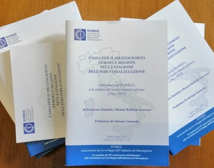 Pubblicato nuovo Quaderno SVIMEZ