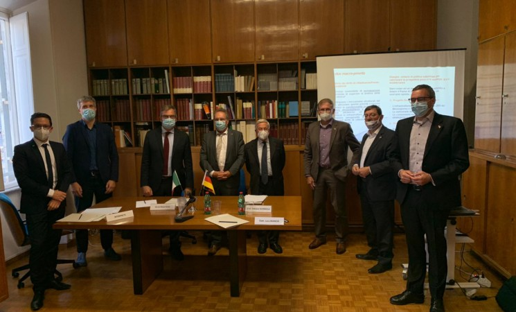 Incontro con parlamentari Bundestag