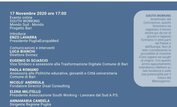 I numeri del South Working