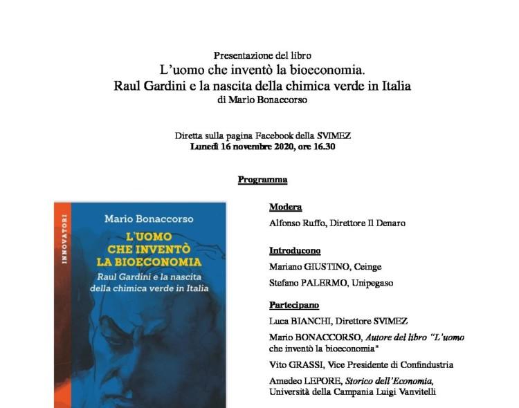 Libro su Raul Gardini