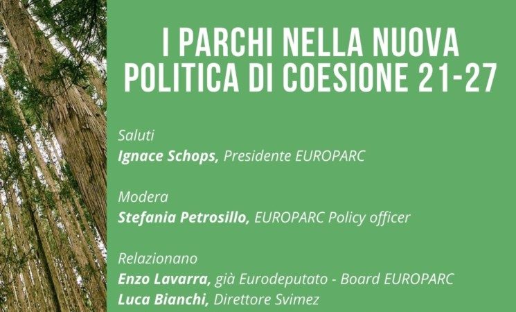 I parchi nella nuova politica di coesione