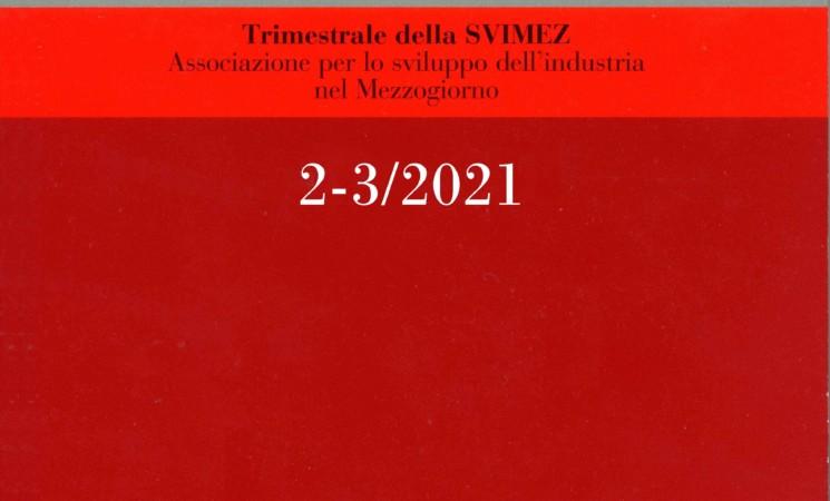 Pubblicata la RGM 2/3 2021